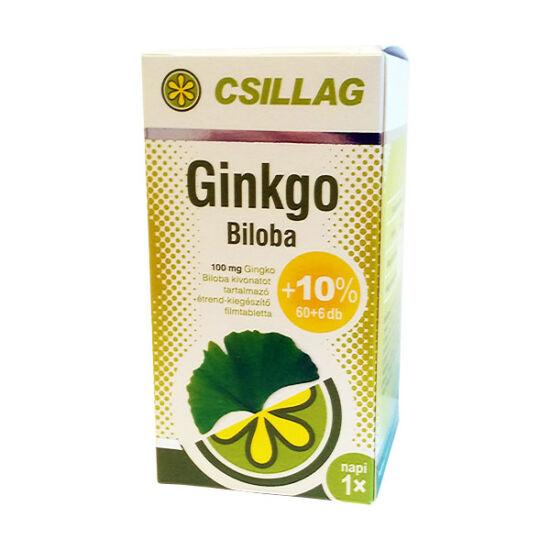 Csillag Ginkgo Biloba 100 mg filmtabletta (60x+6x)