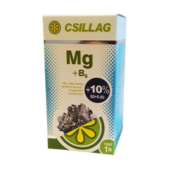 Csillag Magnézium + B6 - vitamin filmtabletta (60x+6x)