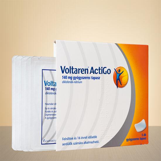 Voltaren ActiGo 140 mg gyógyszeres tapasz (5x)