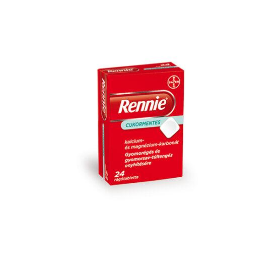 Rennie cukormentes rágótabletta (24x)