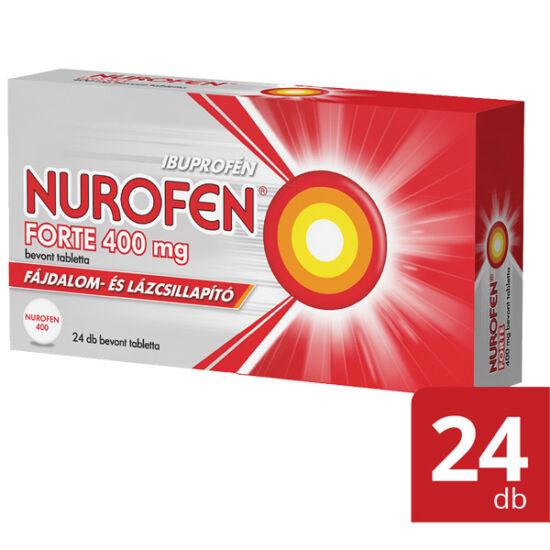 Nurofen Forte 400 mg bevont tabletta (24x)