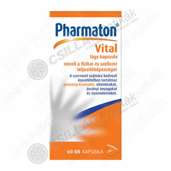 Pharmaton Vital lágy kapszula (60x)
