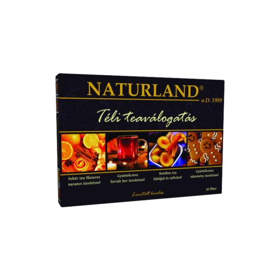 Naturland Téli tea válogatás (30x2g)
