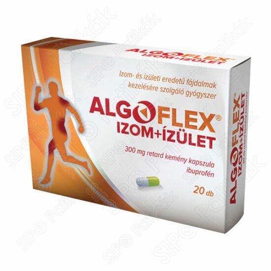 Algoflex Izom+ízület 300 mg retard kemény kapszula (20x)
