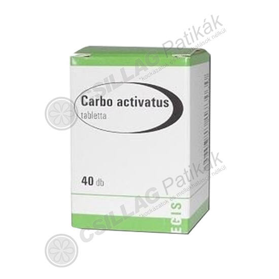 Cralex 125 mg tabletta (Carbo activatus EGIS) (40x)