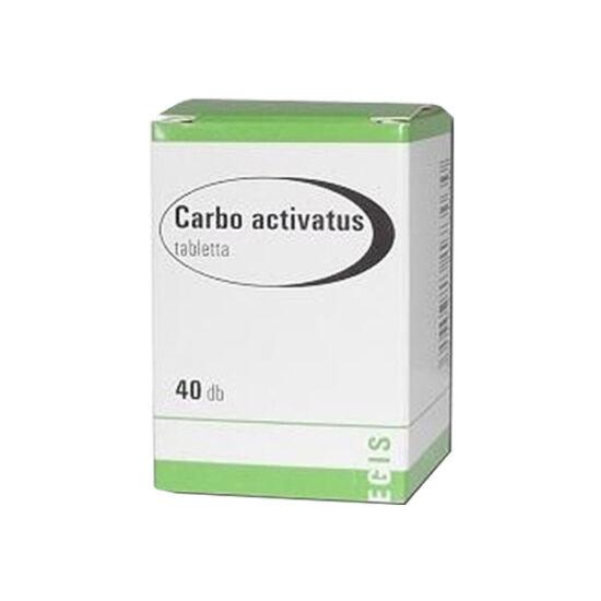 Cralex 125 mg tabletta (Carbo activatus EGIS) (40x)
