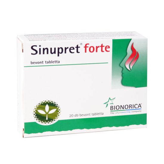 Sinupret forte bevont tabletta (20x)
