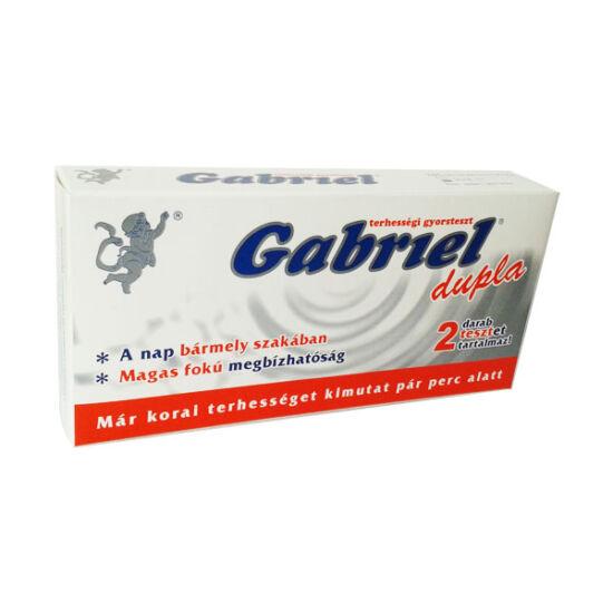Gabriel terhességi teszt DUPLA