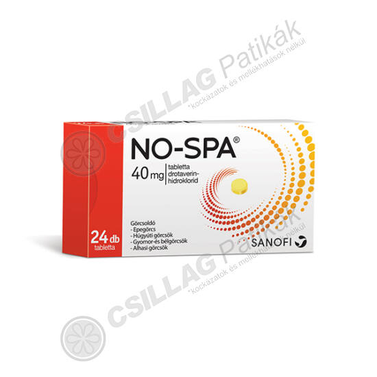 No-Spa 40 mg tabletta (24x)