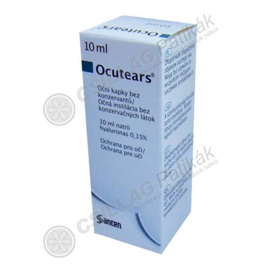 Ocutears szemcsepp (10ml)