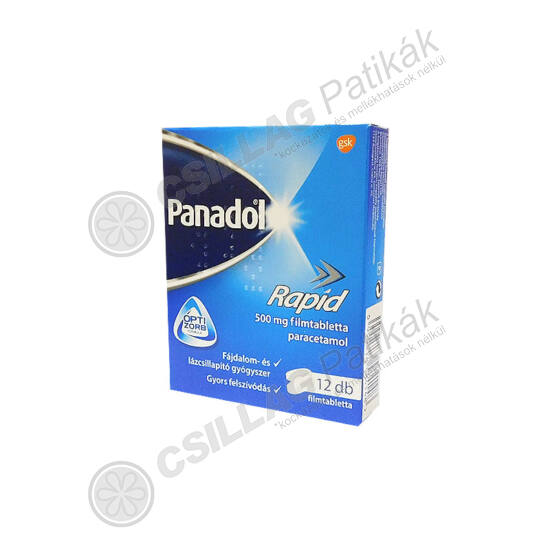 Panadol Rapid 500 mg filmtabletta (12x)