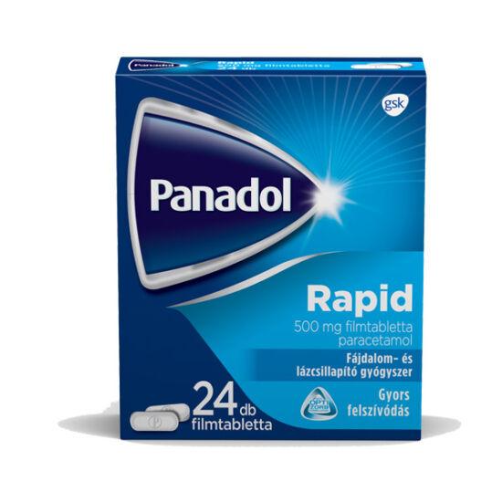Panadol Rapid 500 mg filmtabletta (24x)