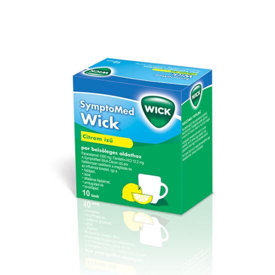 Symptomed Wick belsőleges oldathoz por citrom ízű (10x)