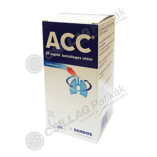 ACC  20 mg/ml belsőleges oldat (100ml)