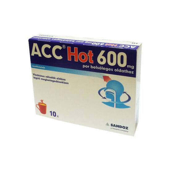 ACC Hot 600 mg por belsőleges oldathoz (10x)