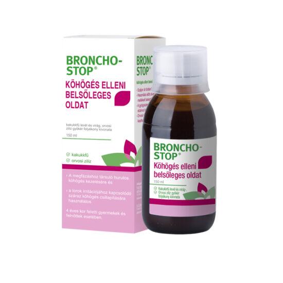 Bronchostop köhögés elleni belsőleges oldat (150ml)
