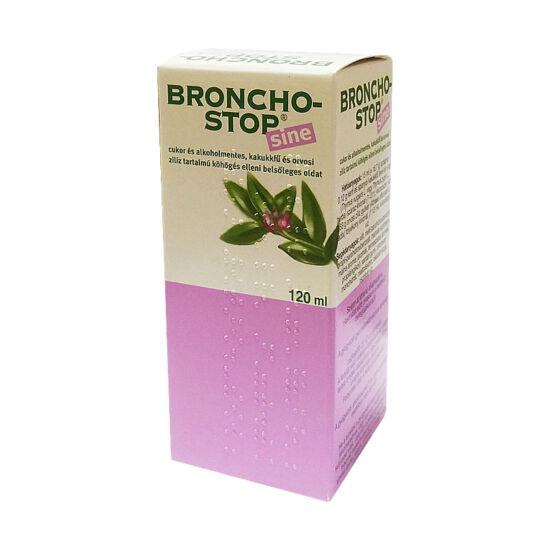Bronchostop Sine köhögés elleni oldat (120ml)