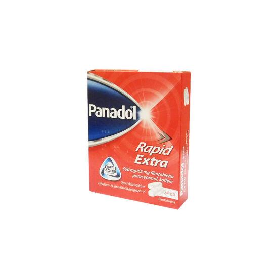 Panadol Rapid Extra 500mg/65mg filmtabletta (24x)