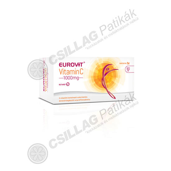 Eurovit C vitamin 1000mg retard filmtabletta (60x)