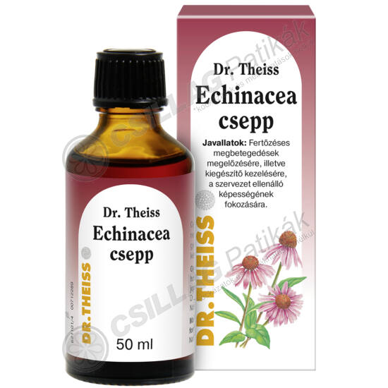 Dr.Theiss Echinacea csepp (50ml)