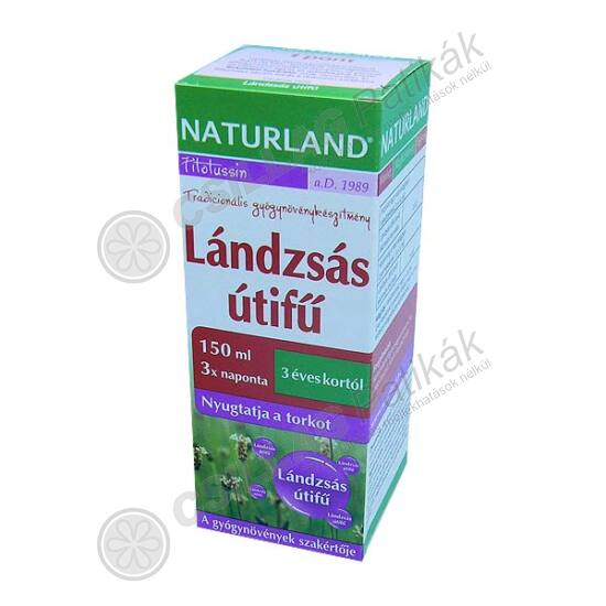 Naturland Lándzsás útifű szirup (150ml)