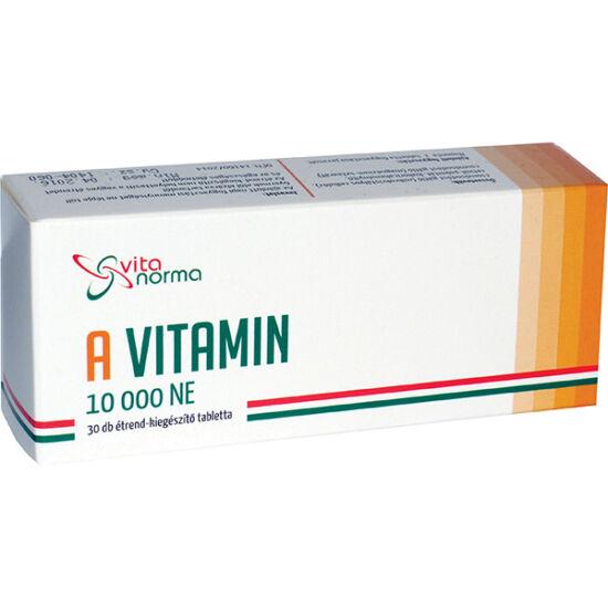 Vitanorma A-vitamin 10000NE kapszula (30x)