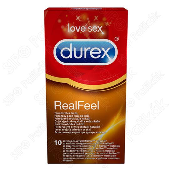 Óvszer Durex Real Feel (10x)