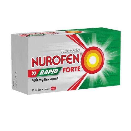 Nurofen Rapid Forte 400 mg lágy kapszula (20x)