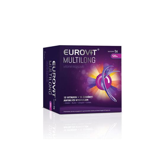 Eurovit Multilong vitamin kapszula (120x)