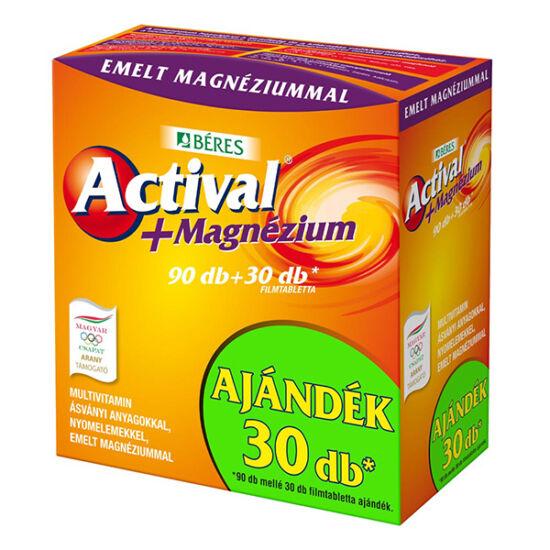 Actival + Magnézium filmtabletta (120x)