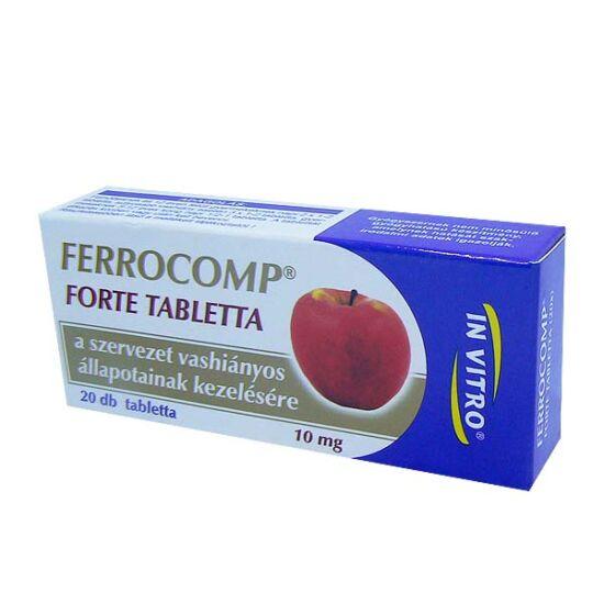 Ferrocomp forte tabletta (20x)