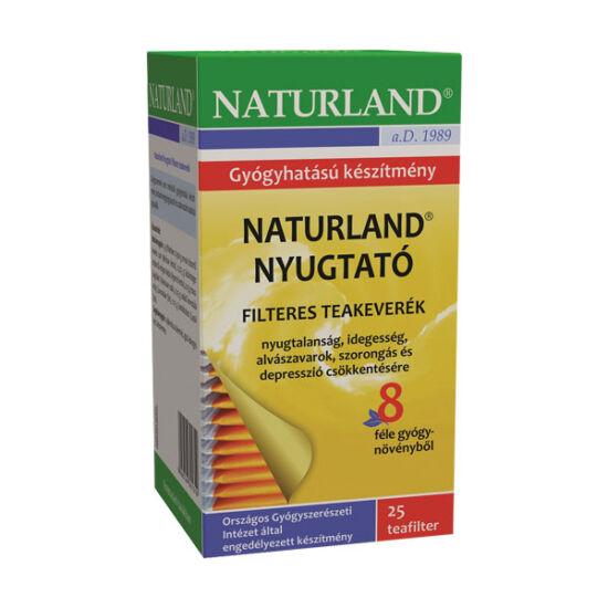 Naturland nyugt. tea filteres (25x)
