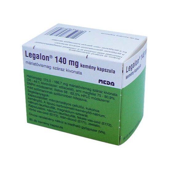 Legalon 140 mg kemény kapszula (60x)