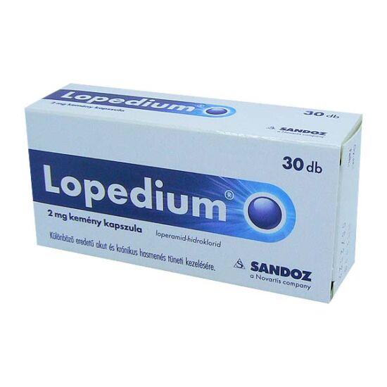 Lopedium 2 mg kemény kapszula (30x)