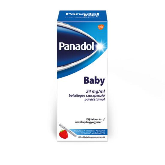 Panadol Baby 24 mg/ml belsőleges szuszpenzió (100ml)