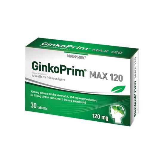 Walmark GinkoPrim Max 120 mg tabletta (30x)