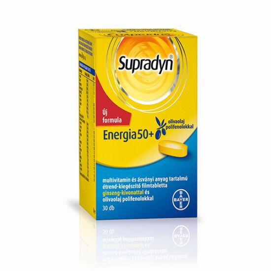 Supradyn Energia 50+ filmtabletta (30x)