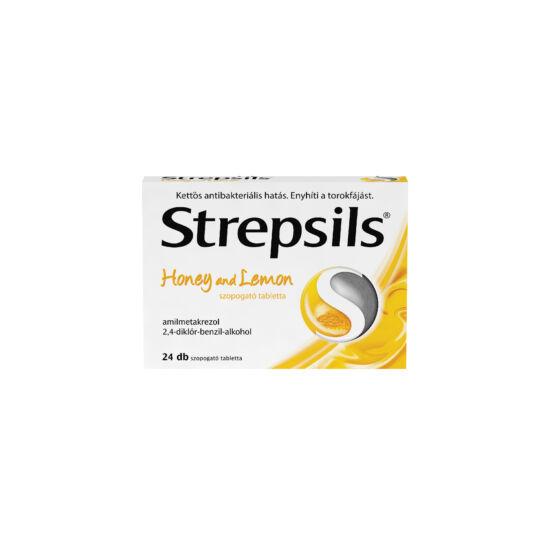 Strepsils Honey and lemon tabletta (24x)