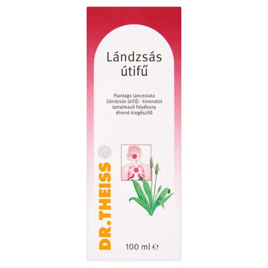 Dr.Theiss Plantago Lanceolata Lándzsás útifű folyékony étrend-kiegészítő (100 ml)