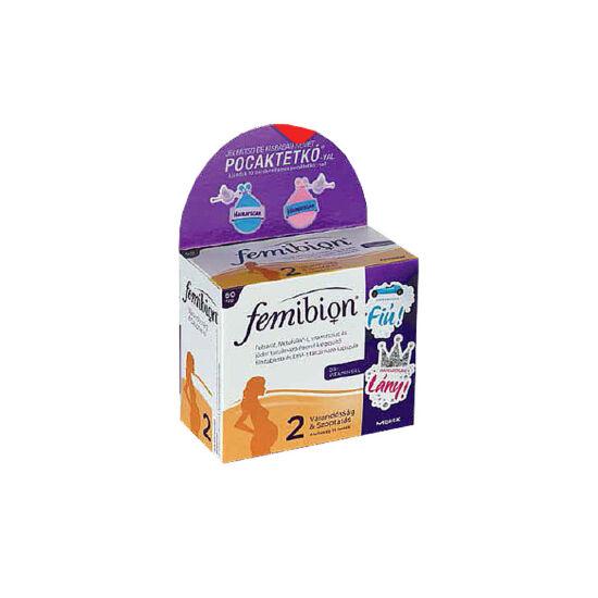 Femibion 2 +D+Met+DHA ftbl. kapszula+pocaktetkó (60+60x)
