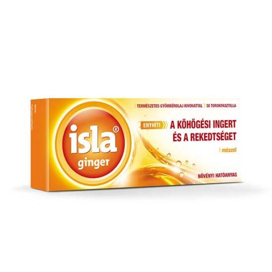 Isla-Ginger torokpasztilla (30x)