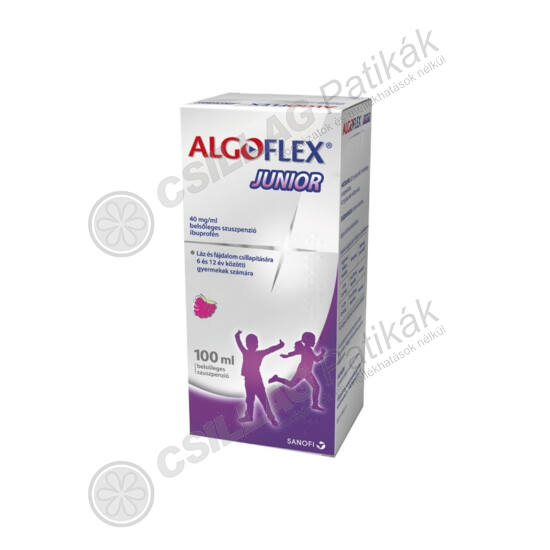 Algoflex Junior 40 mg/ml belsőleges szuszpenzió (100ml)