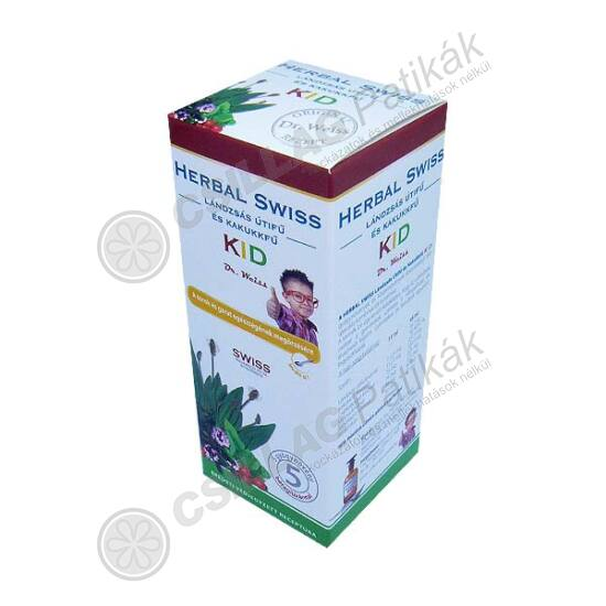 Herbal Swiss Kid Lándzsás útifű-Kakukkfű étr.k.fol (150ml)