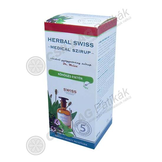 Herbal Swiss Medical szirup (300ml)
