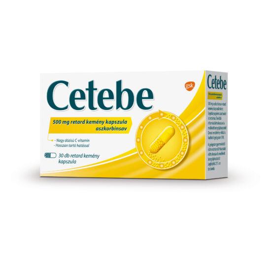 Cetebe 500 mg retard kemény kapszula (30x (bliszter))