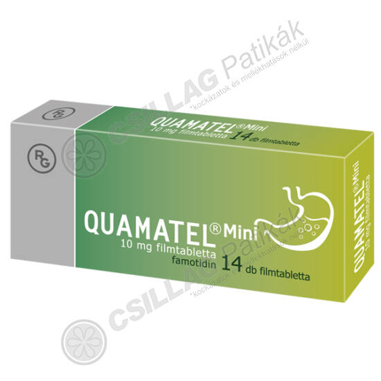 Quamatel Mini 10 mg filmtabletta (14x)