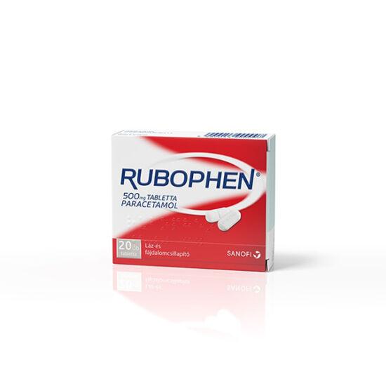Rubophen 500 mg tabletta (20x)