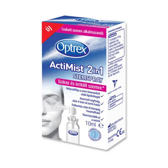 Optrex Actimist 2 in 1 szemspray száraz+irr.szemre (10ml)