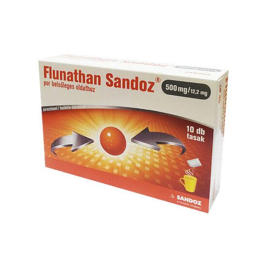Flunathan Sandoz 500 mg/12,2 mg por belsőleges old (10x)