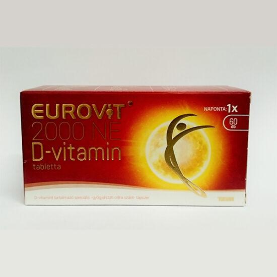Eurovit D-vitamin 2000NE spec. tápszer tabletta (60x)